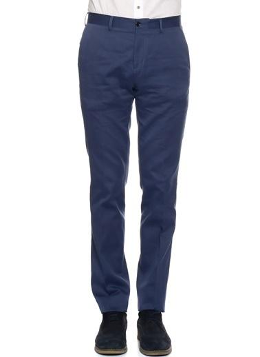 Cotton Bar Cotton Bar Neon Lacivert Erkek Klasik Pantolon İndigo